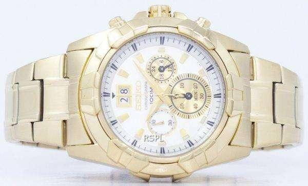 Seiko Chronograph Quartz SPC190 SPC190P1 SPC190P Men's Watch