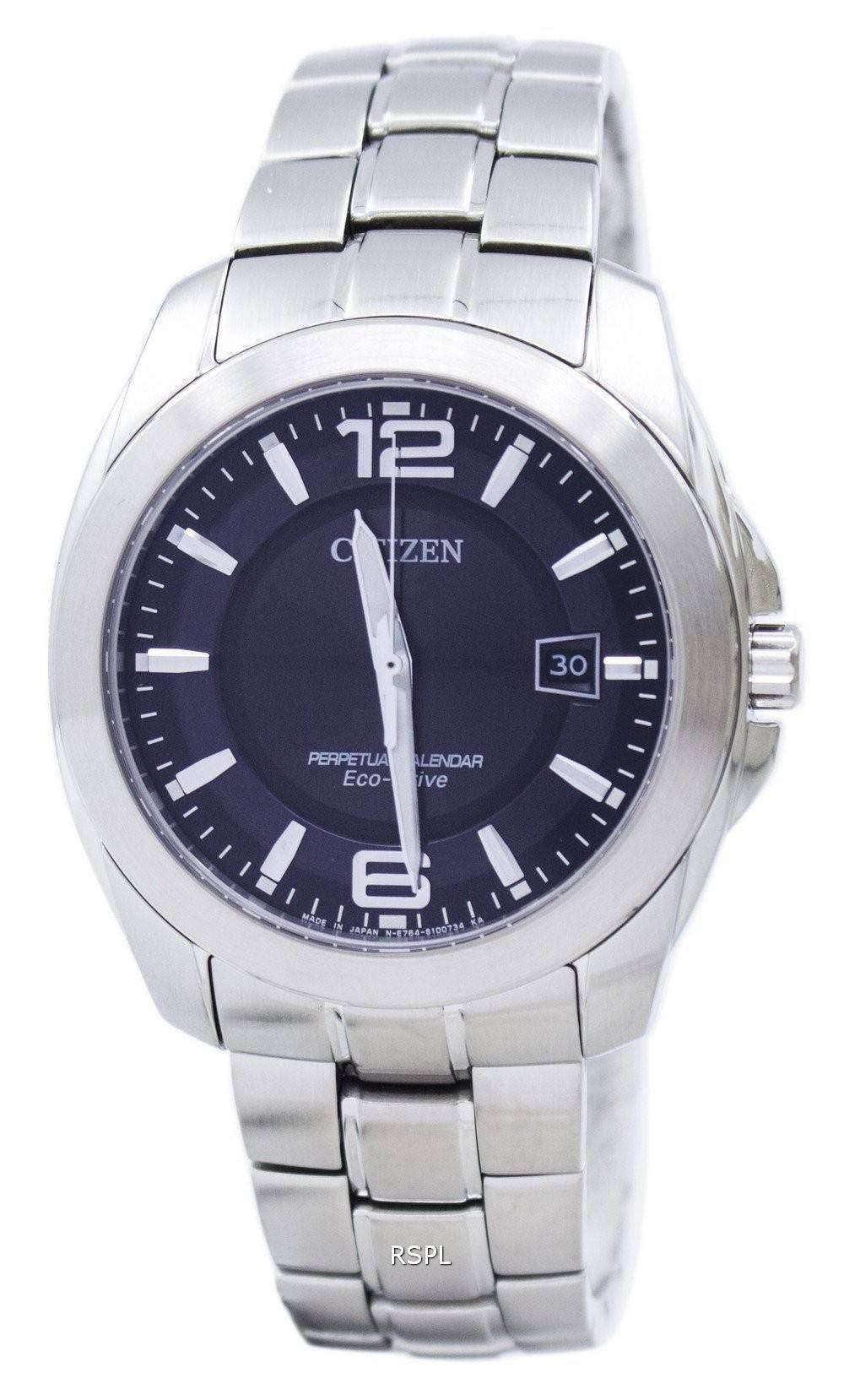 Perpetual Calendar Watches : Citizen eco drive perpetual calendar bl e men