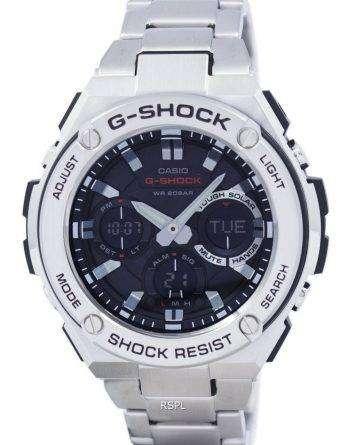 Casio G-Shock G-STEEL Analog-Digital World Time GST-S110D-1A Men's Watch