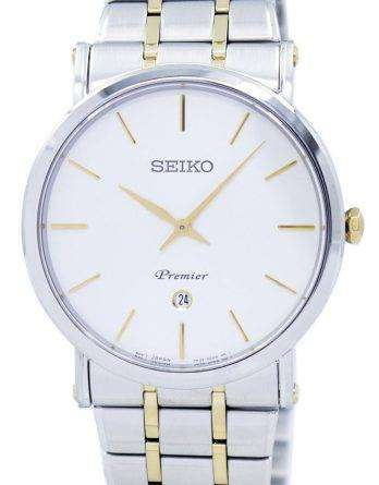 Seiko Premier Quartz Analog SKP400 SKP400P1 SKP400P Men's Watch