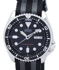 Seiko Automatic Diver's 200M NATO Strap SKX007K1-NATO1 Men's Watch