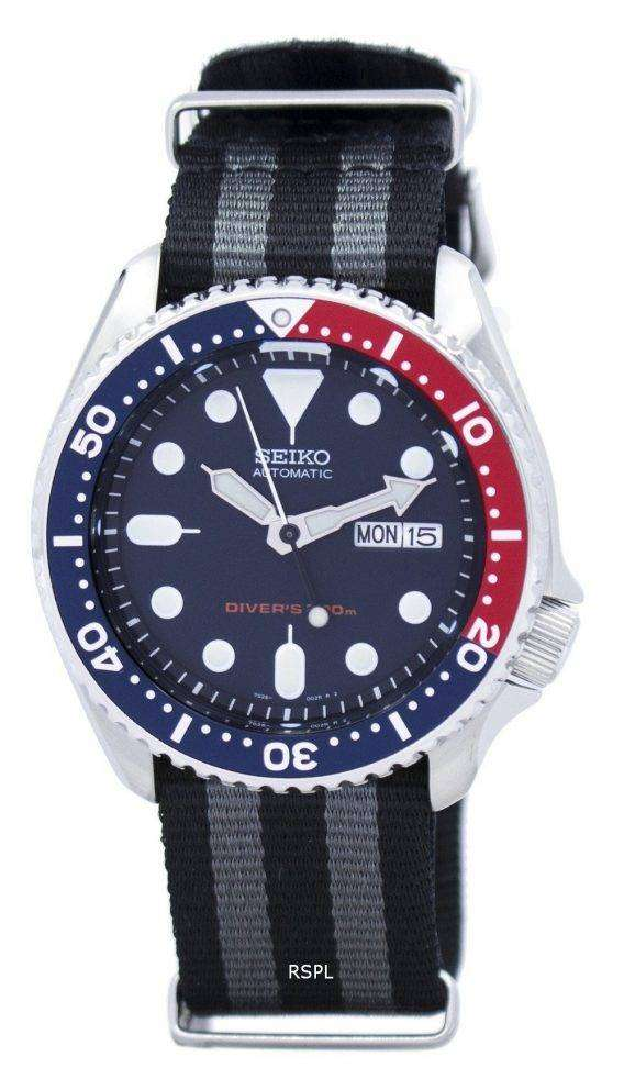 Seiko Automatic Diver's 200M NATO Strap SKX009K1-NATO1 Men's Watch 1