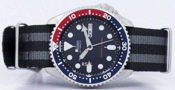 Seiko Automatic Diver's 200M NATO Strap SKX009K1-NATO1 Men's Watch