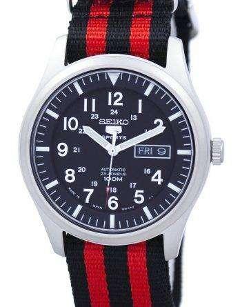 Seiko 5 Sports Automatic Japan Made NATO Strap SNZG15J1-NATO3 Men's Watch