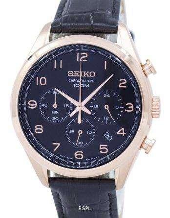 Seiko Classic Chronograph Quartz SSB296 SSB296P1 SSB296P Men's Watch