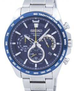 Seiko Chronograph Tachymeter Quartz SSB301 SSB301P1 SSB301P Men's Watch