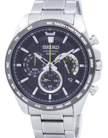 Seiko Chronograph Tachymeter Quartz SSB303 SSB303P1 SSB303P Men's Watch