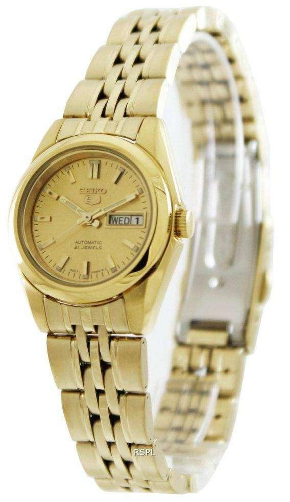 Seiko 5 Automatic 21 Jewels SYMA38 SYMA38K1 SYMA38K Women's Watch 1