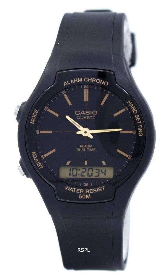 Casio Alarm Chrono Dual Time Quartz AW-90H-9EVDF AW90H-9EVDF Men's Watch 1