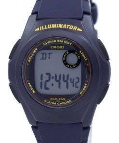 Casio Illuminator Dual Time Alarm Chrono F-200W-2ASDF F200W-2ASDF Men's Watch