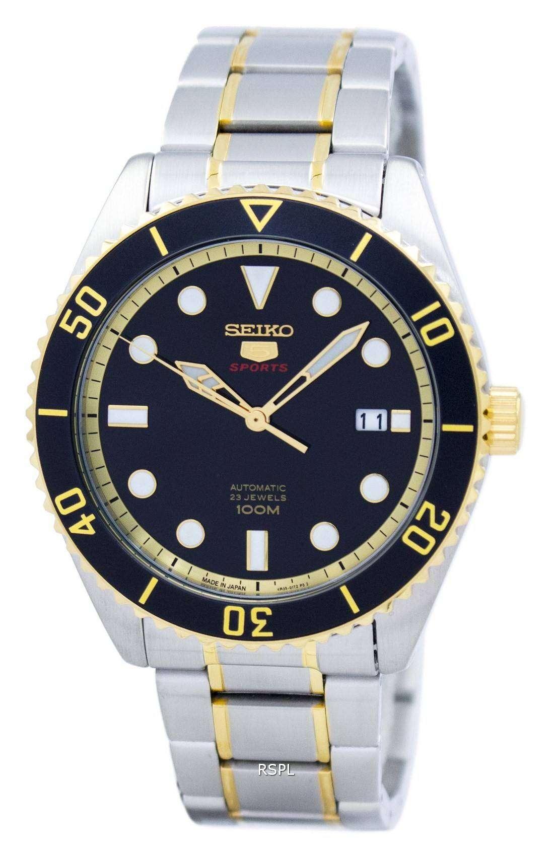 Seiko 5 Sports Automatic Japan Made Srpb94 Srpb94j1 Srpb94j Men S Watch
