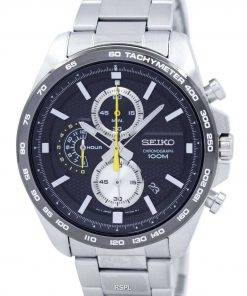 Seiko Chronograph Quartz Tachymeter SSB261 SSB261P1 SSB261P Men's Watch