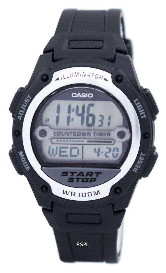 Casio Illuminator World Time Digital W-756-1AV W756-1AV Men's Watch 1