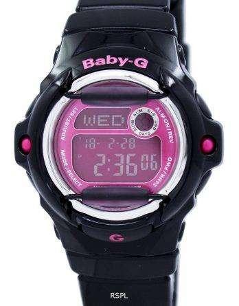 Casio Baby-G World Time Telememo BG-169R-1B Womens Watch