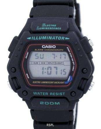 Casio Digital Classic Alarm Chronograph WR200M DW-290-1VS DW-290-1 Mens Watch