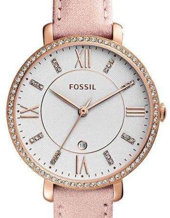 Fossil Jacqueline Quartz Diamond Accent ES4303 Women's Watch