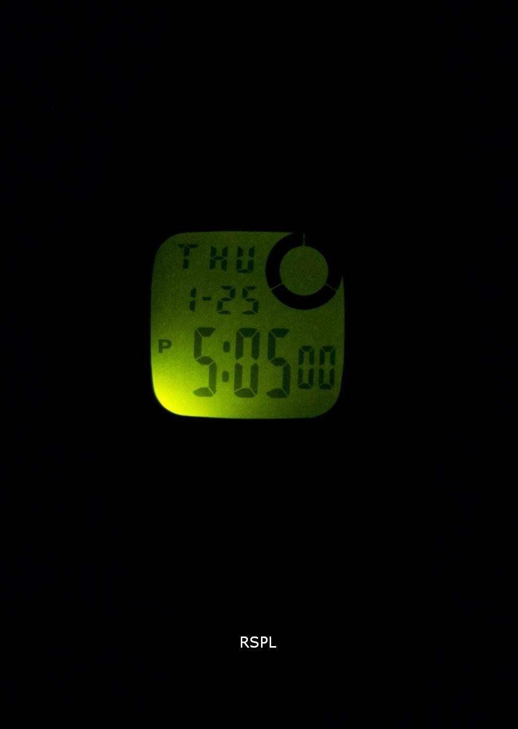 casio illuminator dual time alarm chrono f 200w 9asdf f200w 9asdf men 39 s watch downunderwatches. Black Bedroom Furniture Sets. Home Design Ideas