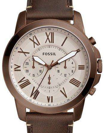 Fossil Grant Chronograph Quartz FS5344 Men's Watch