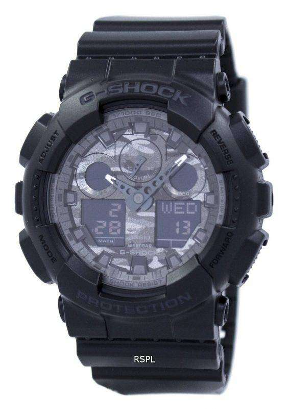 Casio Camouflage Series Analog Digital GA-100CF-1A Mens Watch 1