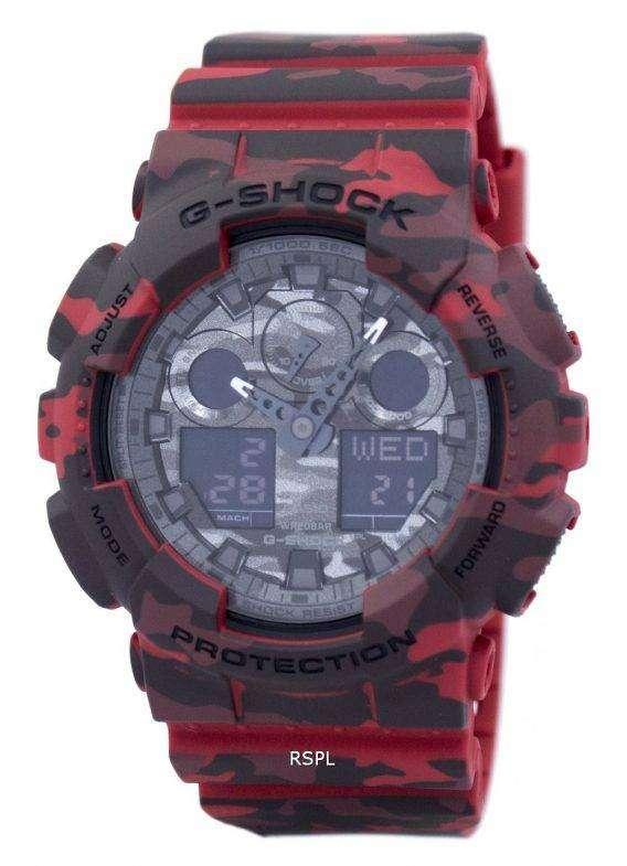 Casio G-Shock Camouflage Series Analog-Digital GA-100CM-4A Mens Watch 1
