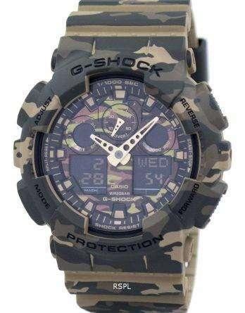 Casio G-Shock Camouflage Series Analog Digital GA-100CM-5A Mens Watch
