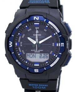 Casio OutGear Twin Sensor World Time Analog Digital SGW-500H-2BV Mens Watch