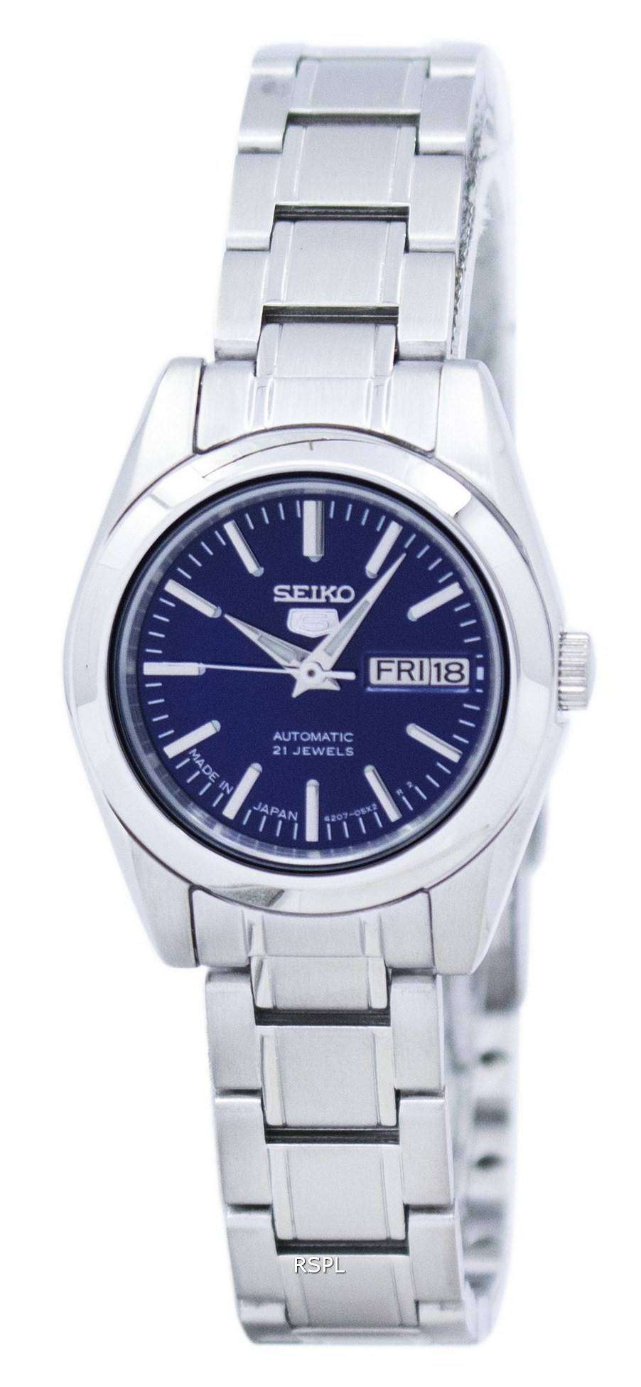 Seiko 5 automatic japan made symk15 symk15j1 symk15j women 39 s watch downunderwatches for Watches of japan