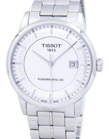 Tissot T-Classic Luxury Powermatic 80 Automatic T086.407.11.031.00 T0864071103100 Men's Watch