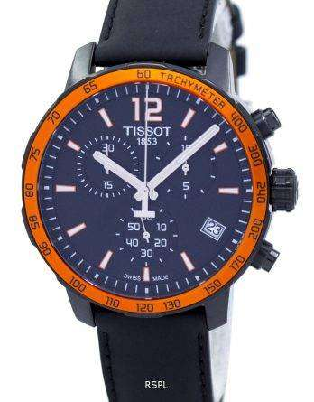 Tissot Quickster Chronograph Tachymeter Quartz T095.417.36.057.01 T0954173605701 Men's Watch