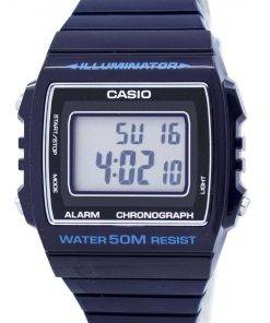 Casio Digital Alarm Chronograph W-215H-2AVDF W-215H-2AV Unisex Watch