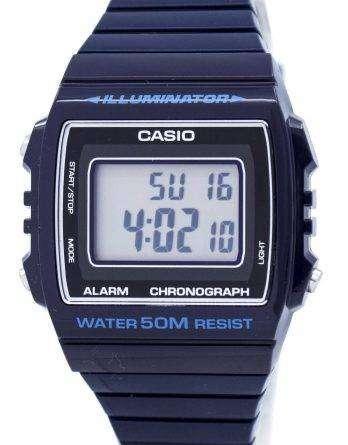Casio Digital Alarm Chronograph W-215H-2AVDF W-215H-2AV Unisex Watch