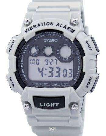 Casio Digital Vibration Illuminator W-735H-8A2VDF W-735H-8A2V Mens Watch