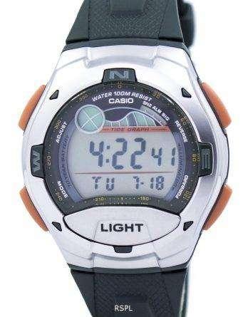 Casio Digital Sports Tide Graph Illuminator W-753-3AVDF W-753-3AV Mens Watch