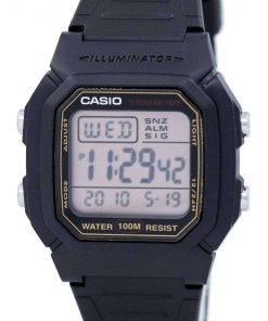 Casio Digital Alarm Illuminator W-800HG-9AVDF W-800HG-9AV Mens Watch