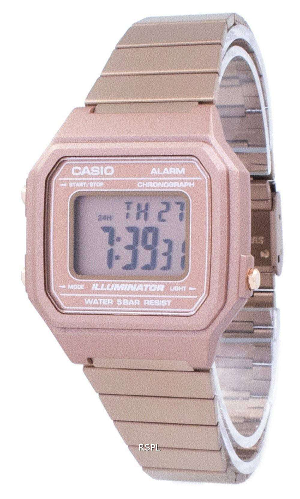 7a090b8b12a Casio Vintage Illuminator Chronograph Alarm Digital B650WC-5A Unisex Watch  1 ...