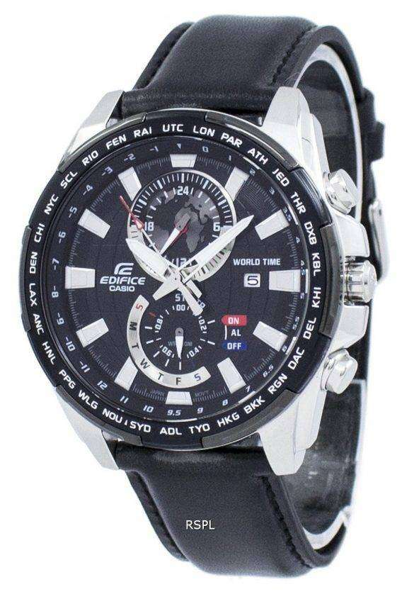 Casio Edifice World Time Quartz EFR-550L-1AV EFR550L-1AV Men's Watch 1