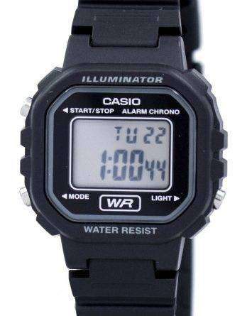 Casio Youth Illuminator Chrono Alarm Digital LA-20WH-1B LA20WH-1B Women's Watch