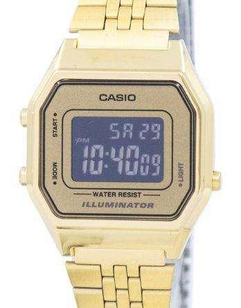 Casio Youth Vintage Illuminator Alarm Digital LA680WGA-9B Women's Watch