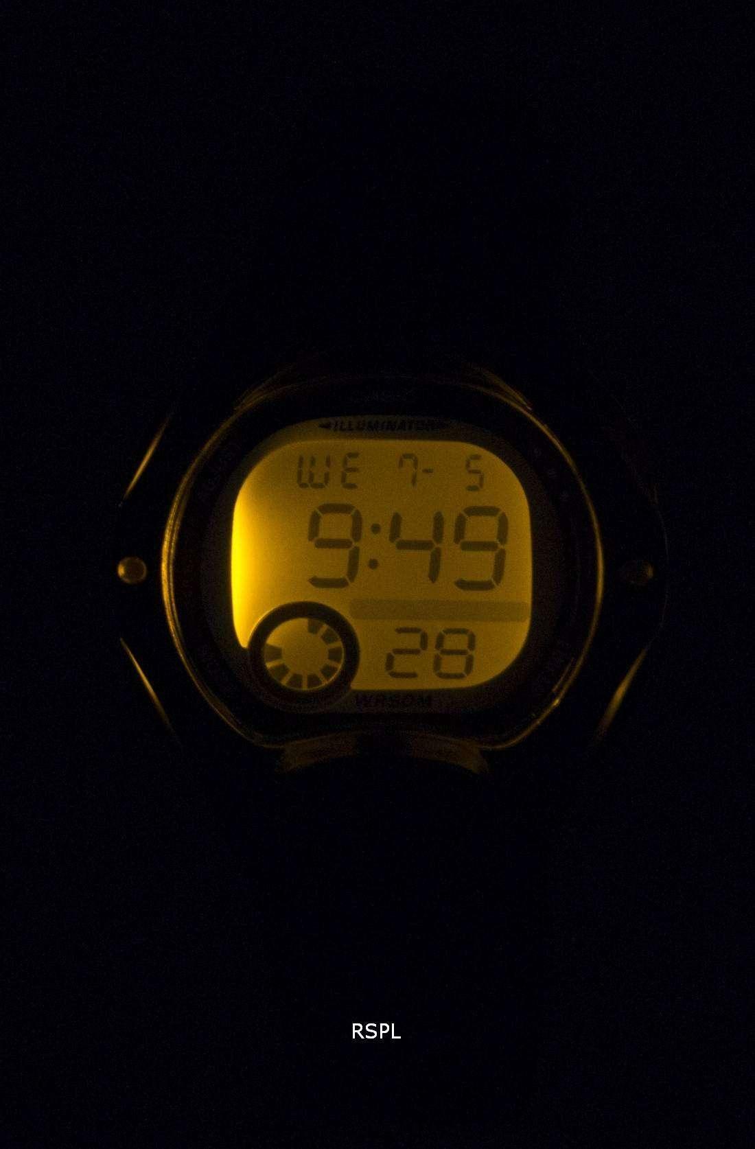 casio illuminator dual time alarm digital lw 200 1bv lw200 1bv women 39 s watch downunderwatches. Black Bedroom Furniture Sets. Home Design Ideas