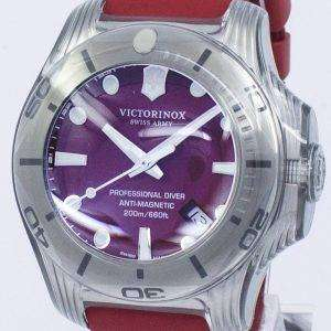 Victorinox I.N.O.X. Swiss Army Professional Diver 200M Quartz 241736 Men's Watch