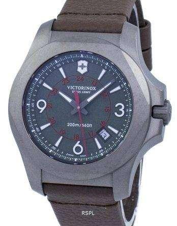 Victorinox I.N.O.X. Titanium Swiss Army Quartz 200M 241779 Men's Watch