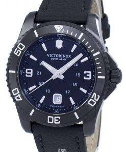 Victorinox Maverick Large Black Edition Swiss Army Quartz 241787 Men's Watch