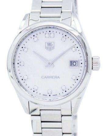 TAG Heuer Carrera Quartz Diamond Accent WAR1314.BA0778 Women's Watch