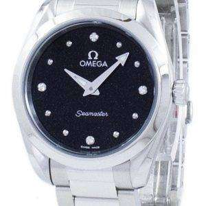 Omega Seamaster Aqua Terra Diamond Accents Quartz 220.10.28.60.51.001 Women's Watch