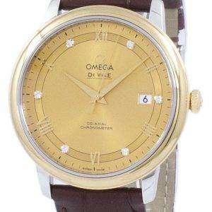 Omega De Ville Prestige Co-axial Chronometer Automatic 424.23.40.20.58.001 Men's Watch