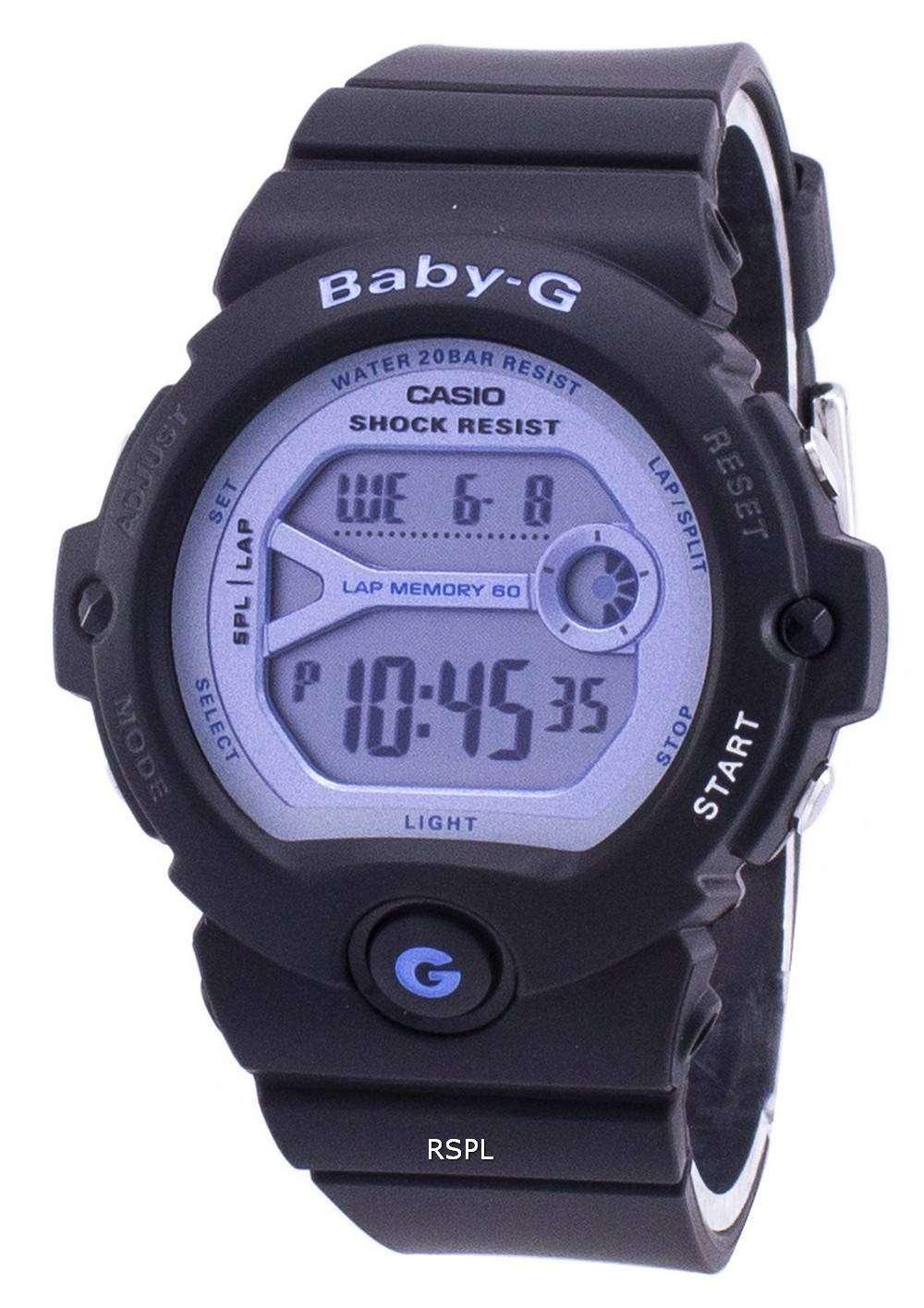 762594f7e Casio Running Baby-G Shock Resistant Digital BG-6903-1 BG69031 Women's Watch