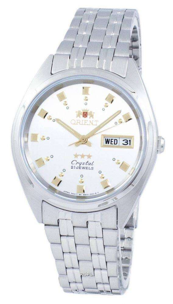 Orient 3 Star Crystal Automatic FAB00009W9 Men's Watch 1