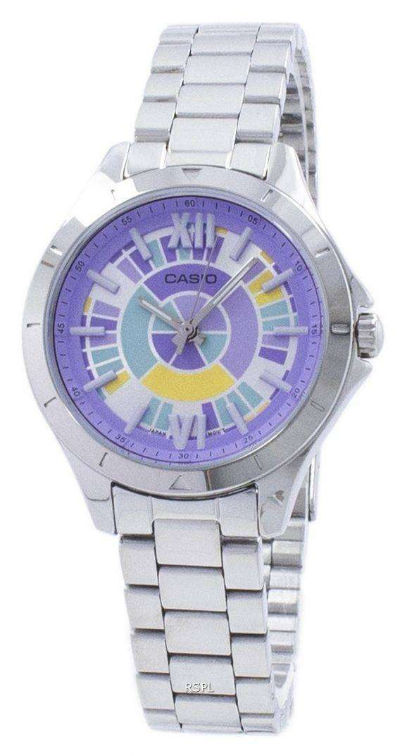 Casio Analog Quartz LTP-E129D-6A LTPE129D-6A Women's Watch 1