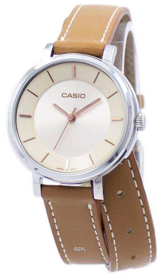 Casio Analog Quartz Double Loop LTP-E143DBL-5A LTPE143DBL-5A Women's Watch 1