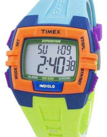 Timex Expedition Chronograph Alarm Indiglo Digital T49922 Unisex Watch